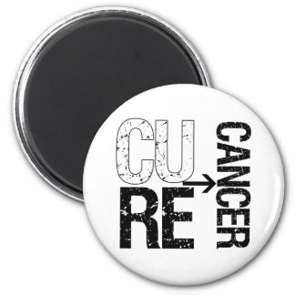 Cure (Lung) Cancer Refrigerator Magnet