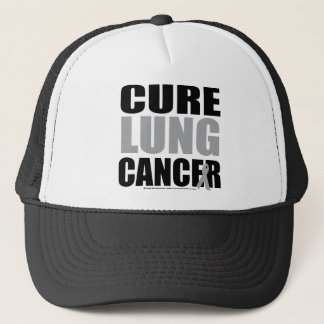 Cure Lung Cancer Trucker Hat