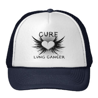Cure Lung Cancer Trucker Hats
