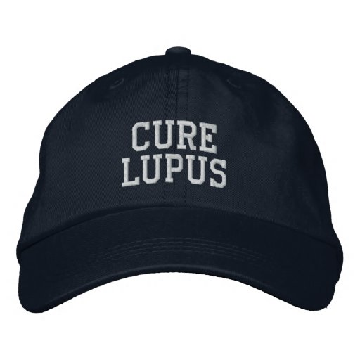 """Cure Lupus"" - Embroidered Hat"