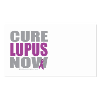 Cure Lupus Now Business Card