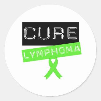 Cure Lymphoma Round Sticker