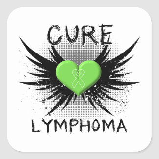Cure Lymphoma Stickers