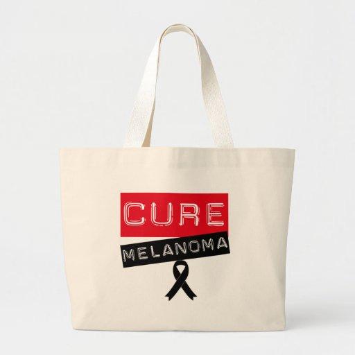 Cure Melanoma Tote Bags