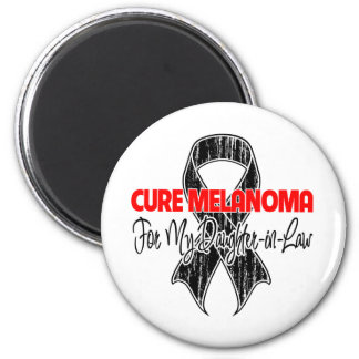 Cure Melanoma For My Daughter-in-Law Refrigerator Magnet