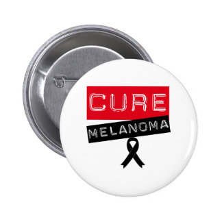 Cure Melanoma Pinback Button