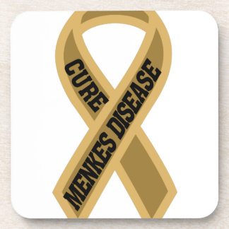 Cure Menkes Disease Drink Coaster
