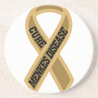 Cure Menkes Disease Sandstone Coaster