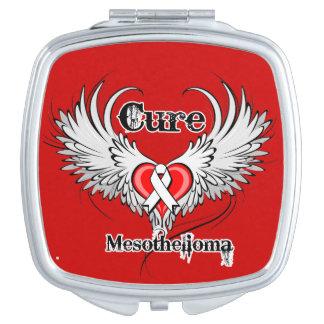 Cure Mesothelioma Cancer Vanity Mirror