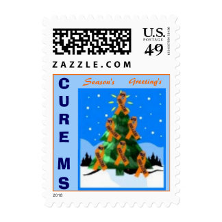 CURE MS XMAS POSTAGE