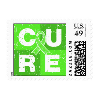 CURE Muscular Dystrophy Distressed Cube Postage