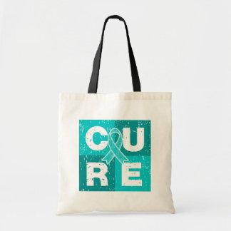 CURE Myasthenia Gravis Cube Tote Bag