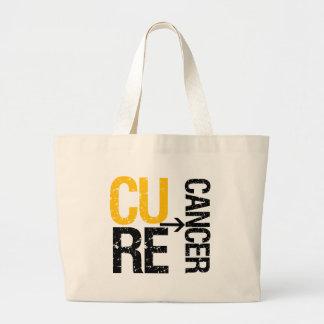 Cure Neuroblastoma Canvas Bags