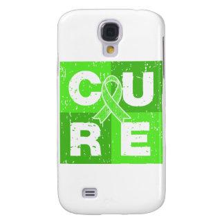 CURE Non-Hodgkins Lymphoma Distressed Cube HTC Vivid / Raider 4G Cover