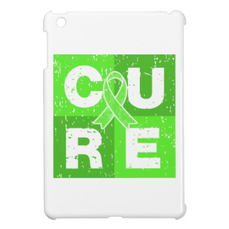 CURE Non-Hodgkins Lymphoma Distressed Cube iPad Mini Cover