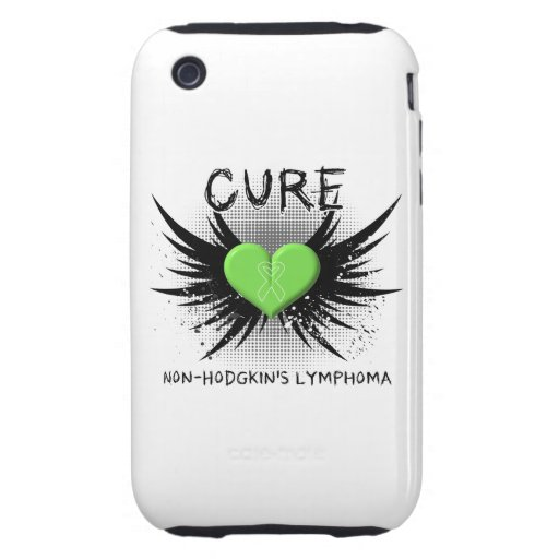 Cure Non-Hodgkin's Lymphoma iPhone 3 Tough Cases