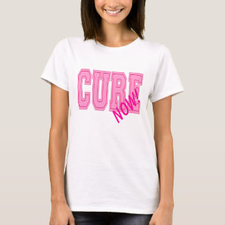 Cure Now! Breast Cancer Awareness T-Shirt