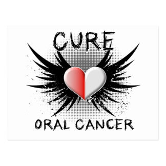 Cure Oral Cancer Postcard