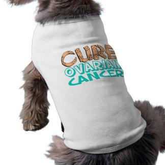 Cure Ovarian Cancer Pet Tee