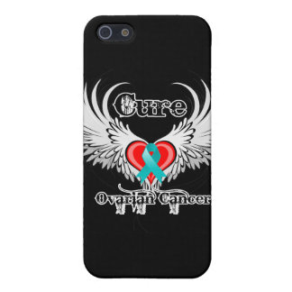 Cure Ovarian Cancer Heart Too Wings Case For iPhone 5