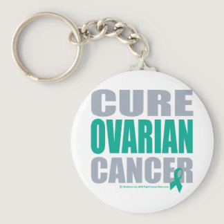 Cure Ovarian Cancer Keychain