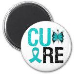 Cure Ovarian Cancer Refrigerator Magnet