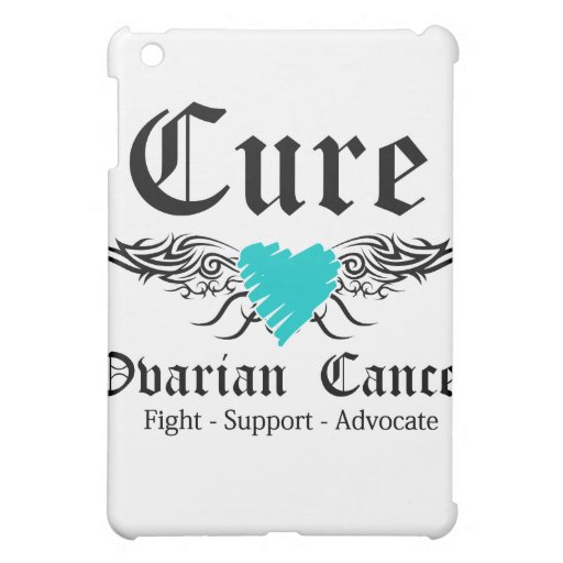 Cure Ovarian CancerToo Wings Case For The iPad Mini