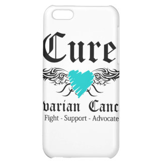Cure Ovarian CancerToo Wings Case For iPhone 5C