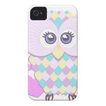 Cure Owl iPhone 4 Case-Mate Case