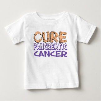 Cure Pancreatic Cancer Baby T-Shirt