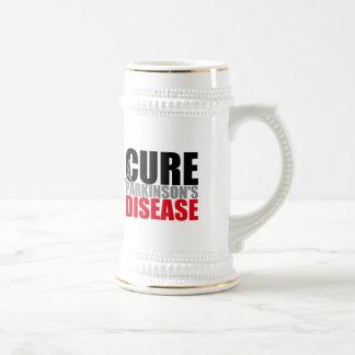 CURE Parkinsons Disease 18 Oz Beer Stein