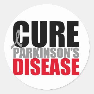 CURE Parkinsons Disease Classic Round Sticker