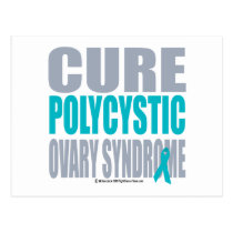 Cure PCOS Postcard