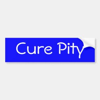 Cure Pity Bumper Sticker