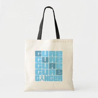 CURE Prostate Cancer Collage Tote Bags