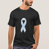 Cure Prostate Cancer Light Blue Ribbon Shirt
