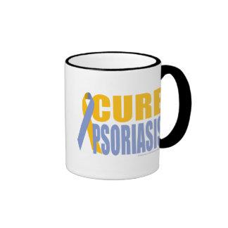 Cure Psoriasis Ringer Coffee Mug