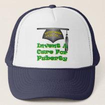 Cure Puberty Trucker Hat