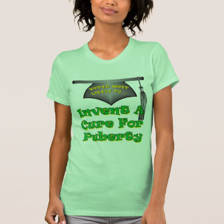 Cure Puberty T-shirt