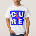 CURE Pulmonary Fibrosis Cube Tshirt