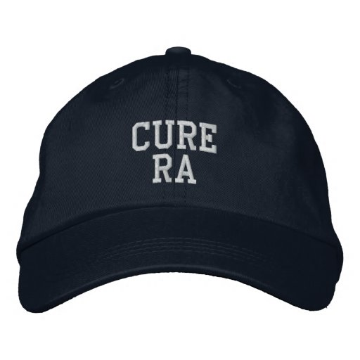 """Cure RA"" - Embroidered Hat"