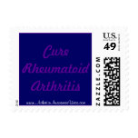 Cure RA Postage Stamp