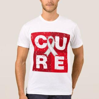 CURE Retinoblastoma Distressed Cube Shirts