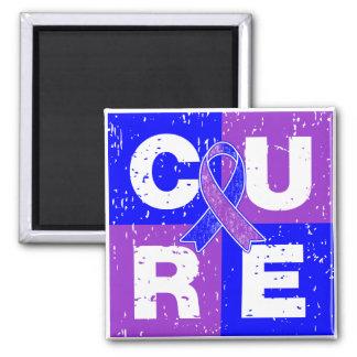 CURE Rheumatoid Arthritis Cube Refrigerator Magnets