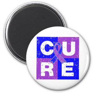 CURE Rheumatoid Arthritis Cube Fridge Magnets