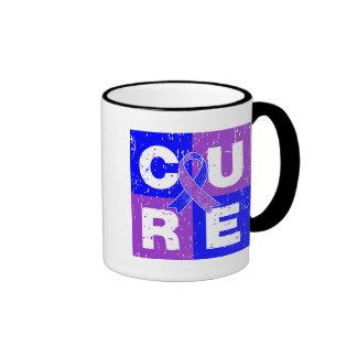 CURE Rheumatoid Arthritis Cube Coffee Mug