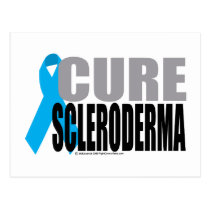 Cure Scleroderma Postcard