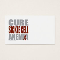 Cure Sickle Cell Anemia Business Card