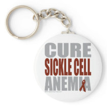 Cure Sickle Cell Anemia Keychain