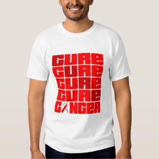CURE Squamous Cell Carcinoma Collage Tee Shirts